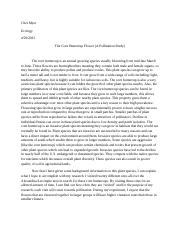 ecology research paper