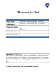 Module 1 - Assignment 1 – Case Study (Response Template).docx