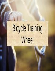 Bicycle Training Wheel.pptx