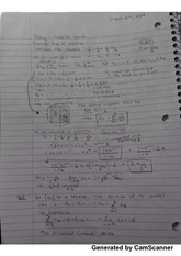 Class notes on Infinite Series