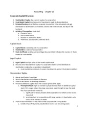 Accounting Ch 23 Outline
