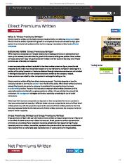 Direct Premiums Written Definition _ Investopedia.pdf
