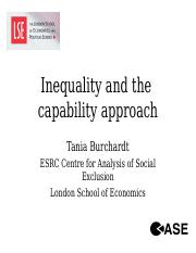 inequality and capability approach.ppt