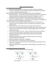 Biology Study Notes Chapter 13.docx
