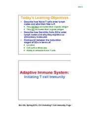 Lecture 18-Chap9_Initiating_TCell_Responses_Apr8_2slides