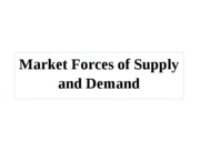 Supply+and+Demand