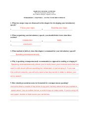 worksheet-chap-4 - BARUCH COLLEGE   COM 1010 The City ...
